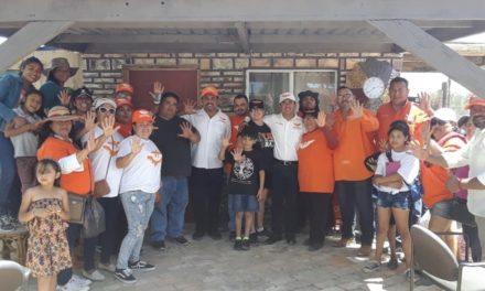 Acompaña Gerardo Aguíñiga en caminata por la dignidad de San Felipe