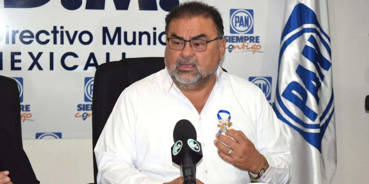 """Aprobación de APPs fue """"políticamente inoportuno"""": PAN Mexicali"""