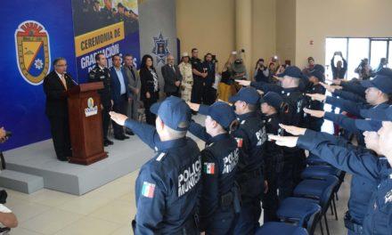 Se incorporan 48 nuevos elementos a la policía municipal