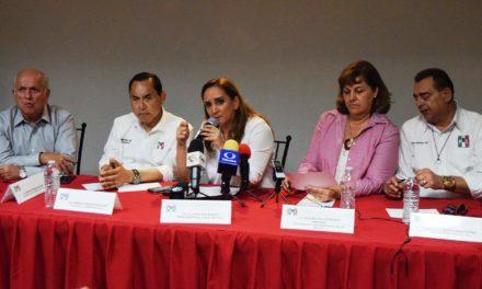 """""""En el PRI siempre competimos para ganar"""": Claudia Ruiz Massieu"""