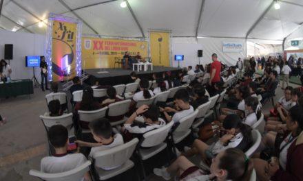 Concluye la XX FIL UABC con récord de asistencia
