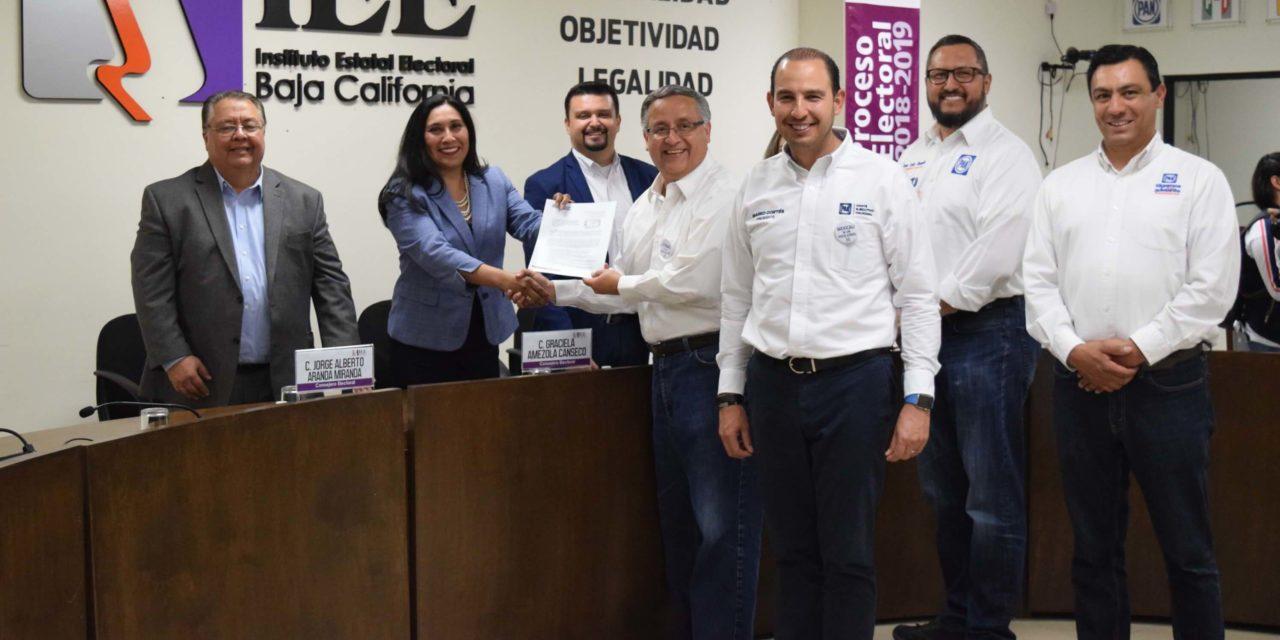 No soy el mismo de hace tres años: Gustavo Sánchez se registra como candidato