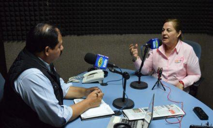 """""""Los mexicalenses quieren una alcaldesa"""": Lupita Gutiérrez"""