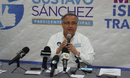 """Vamos a ganar la presidencia municipal"": Gustavo Sánchez"