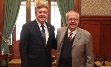 Se reúne Gobernador de BC con titular de la SHCP Carlos Urzúa