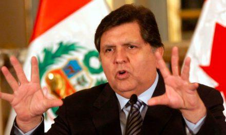 Se suicida Alan García, ex presidente peruano, antes de ser detenido por caso Odebrecht
