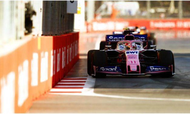 Checo Pérez queda sexto en Gran Premio de Bakú