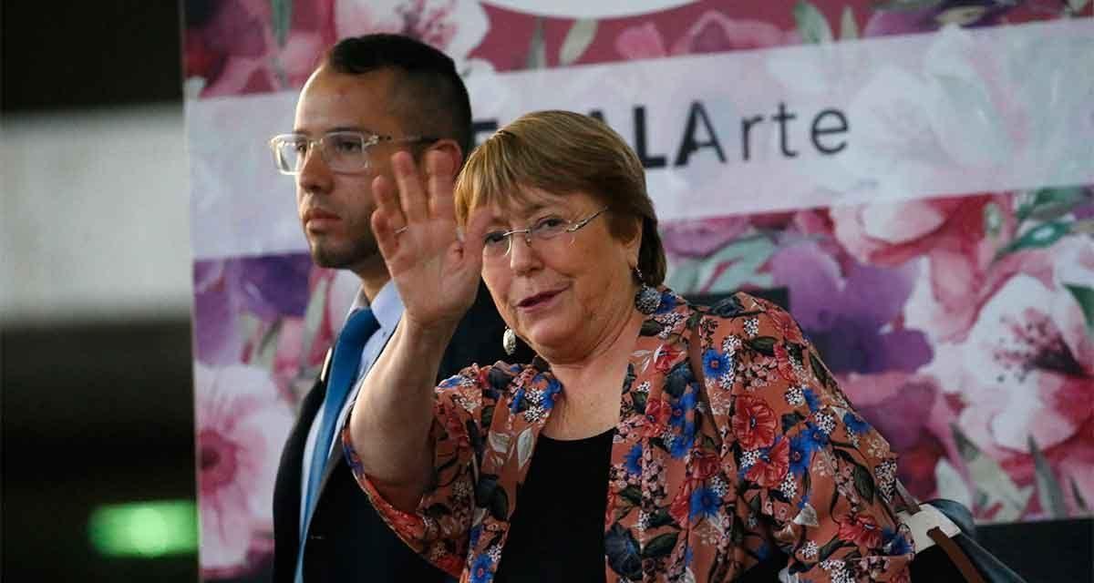 Llega Bachelet a Venezuela, se reunirá con Maduro y Guaidó