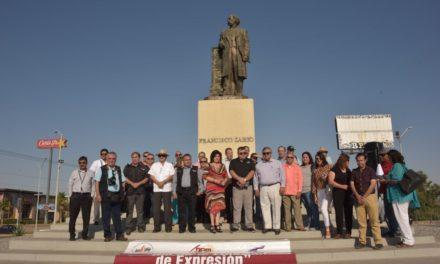 """""""Ni hampones, ni chairos, ni fifís"""", replican periodistas de Mexicali"""