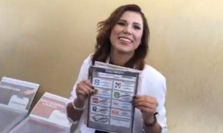 """""""Las encuestas no votan"""": Marina del Pilar"""