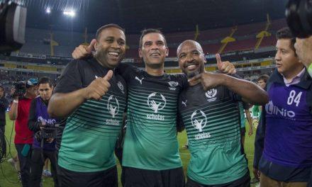 Con partido a beneficio, Rafael Márquez se despide del fútbol