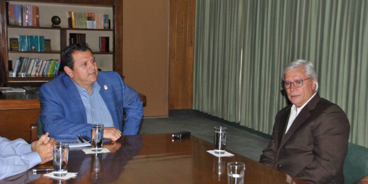 Se reúnen rector Valdez y gobernador electo Bonilla para analizar situación financiera de la UABC