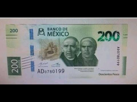 Éste es el nuevo billete de 200 pesos que circulará a partir de septiembre