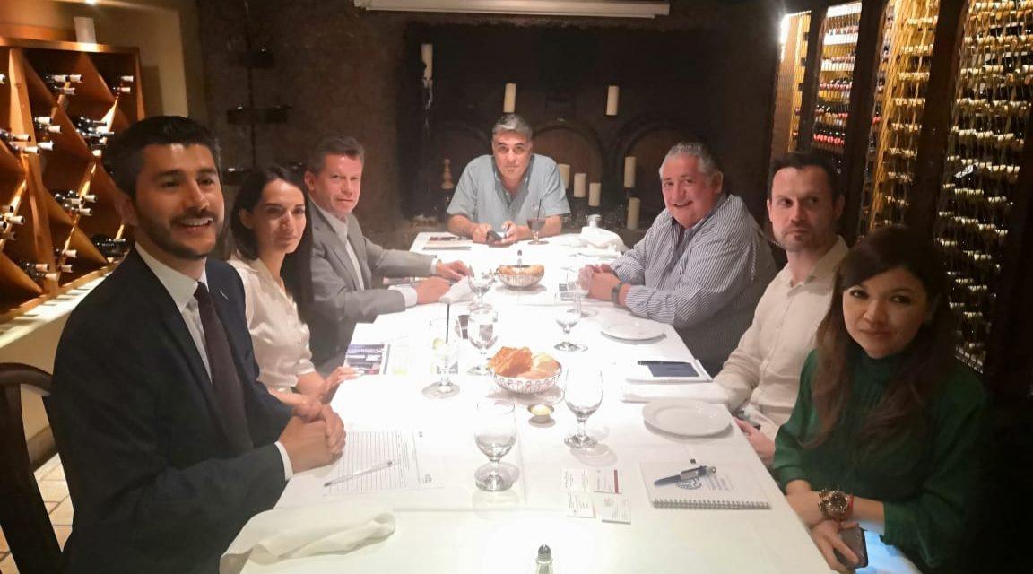 Se reúne Rodríguez Lozano con representantes de la OIT e INAMI