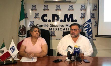 Asamblea Municipal fue una fiesta de la democracia: PAN Mexicali