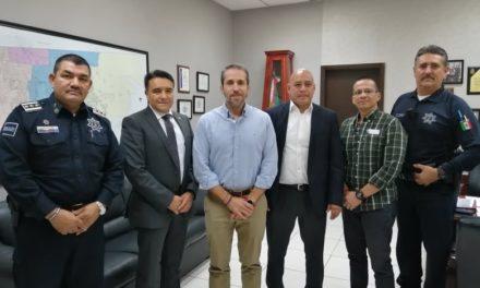 Se reúnen autoridades de Seguridad Pública de Mexicali y Guanajuato