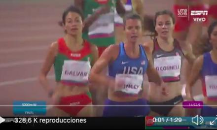 Un momento fantástico para México: Laura Galvan ganando el Oro