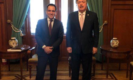 Se reúne gobernador de BC con el Secretario de Hacienda y Crédito Público