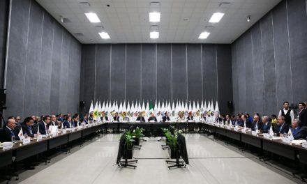 Bonilla acompaña a Vega de Lamadrid a reunión de CONAGO