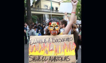 México ofrece ayuda a países afectados por incendio en el Amazonas