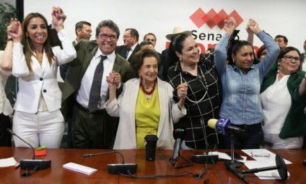 Bronca en Morena-Senado; eligen a Mónica Fernández