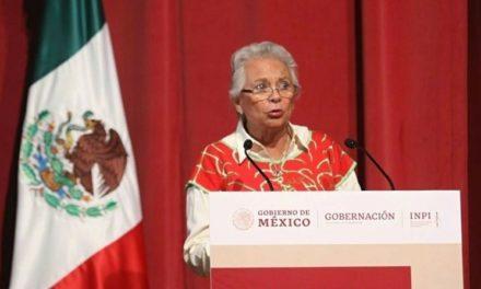 No habrá más diálogo con autodefensas: Olga Sánchez Cordero