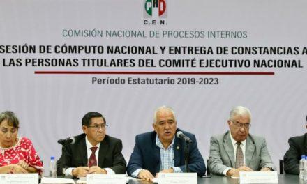 Emite PRI declaratoria de mayoría a favor de Alejandro Moreno