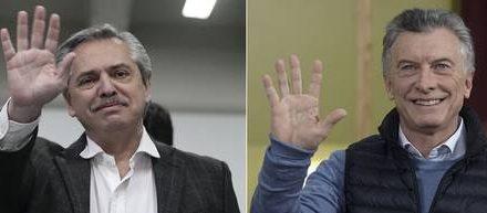 Derrota el binomio Fernández por paliza a Mauricio Macri