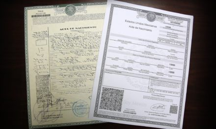 Actas de nacimiento impresas en hoja blanca son válidas, señala el Registro Civil