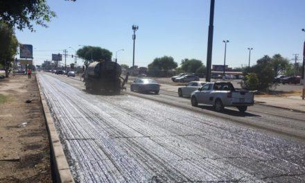 Inician obras de rehabilitación en el boulevard Lázaro Cárdenas