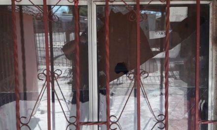 Detienen a migrantes hondureños por daños en propiedad ajena