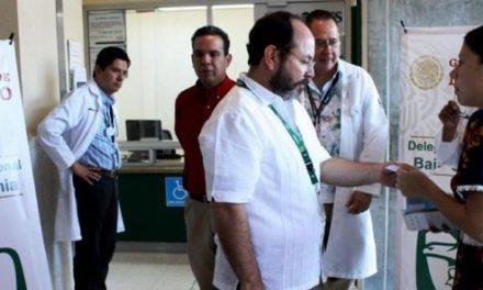 Se va del IMSS Salvador Morales Riubí; reestructura a nivel nacional