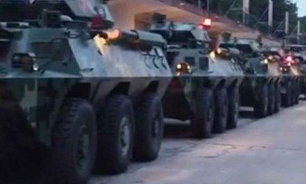 Preocupa a EU presencia de militares chinos en frontera con Hong Kong