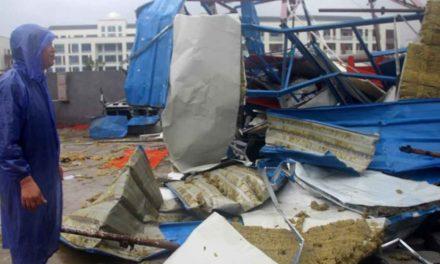Azota tifón 'Lekima' a China; hay 18 muertos y 14 desaparecidos