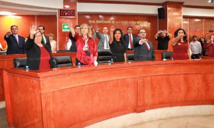 Queda integrada la XXIII Legislatura del Congreso del Estado