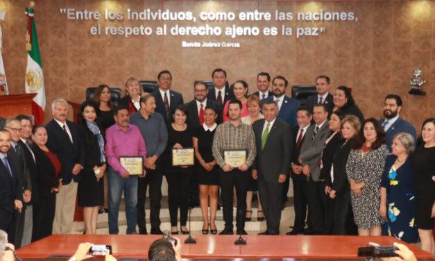 Celebra Congreso del Estado Sesión Solemne por el Día del Constituyente