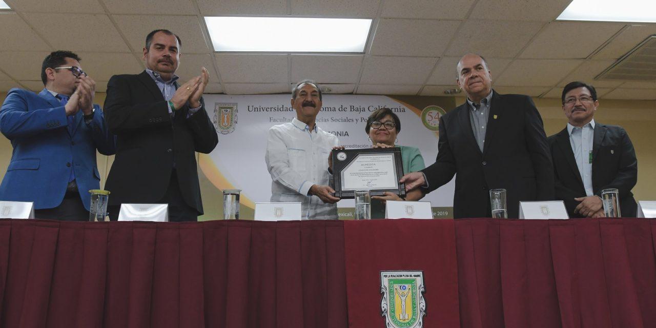 Reacreditan calidad de la Licenciatura en Economía de la UABC