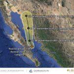 """""""Lorena"""" se aleja gradualmente de Baja California"""