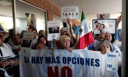 Manifiestan rechazo a la despenalización del aborto