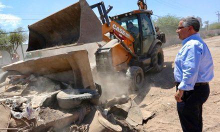 Realizan operativo Mueble Viejo en colonias Santa Verónica y Misión Vizcaíno