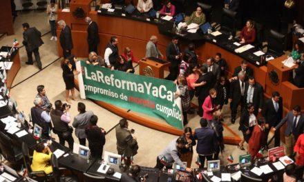 Aprueba el Senado leyes secundarias de la reforma educativa