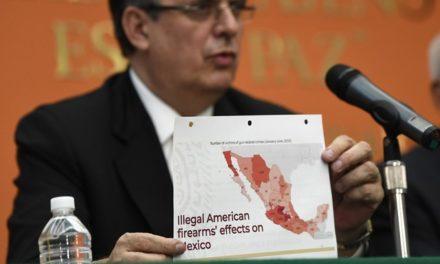 """Trump, """"agradecido"""" con México por el control migratorio"""