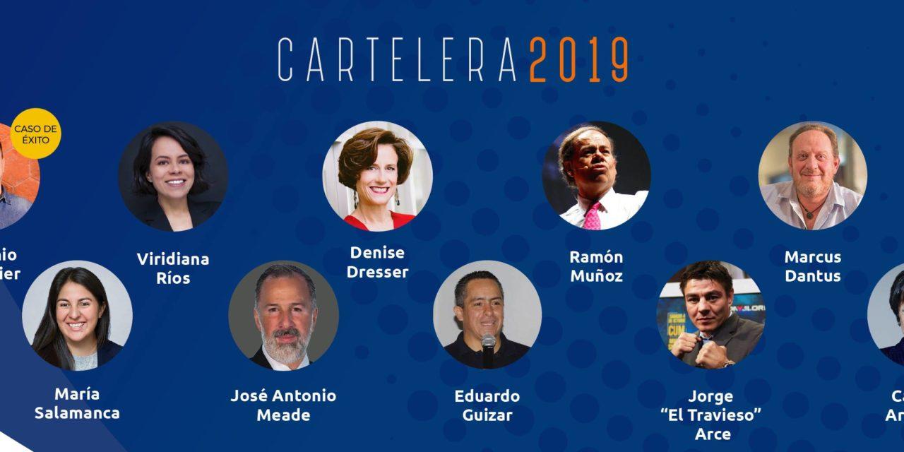 Meade, Dresser y Aristegui, entre los conferencias principales del Foro Eleva Mexicali 2019