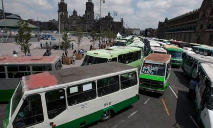 Paran transportistas; Sheinbaum dice no a alza en tarifas