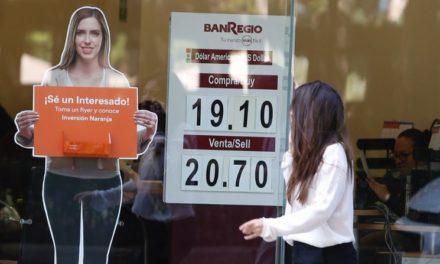 Peso se deprecia; cotiza en 20.13 por dólar