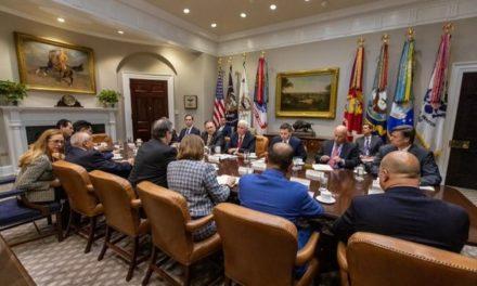 """Agradece AMLO a Trump tras """"exitosa"""" reunión de Ebrard"""