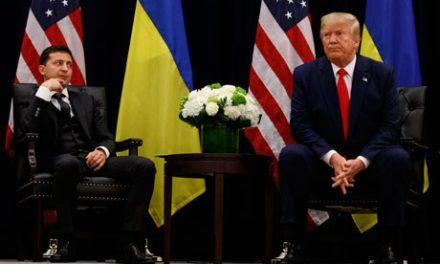 Trump sí trató con Ucrania golpeteo a su rival Biden