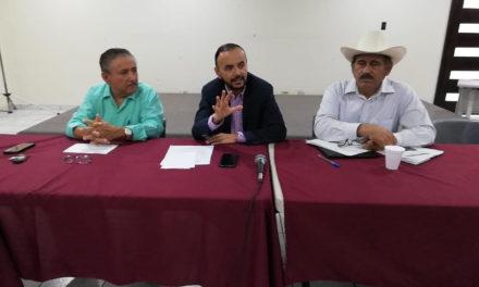 Se reúne diputado Elí Topete con productores agrícolas para tratar la situación del agua