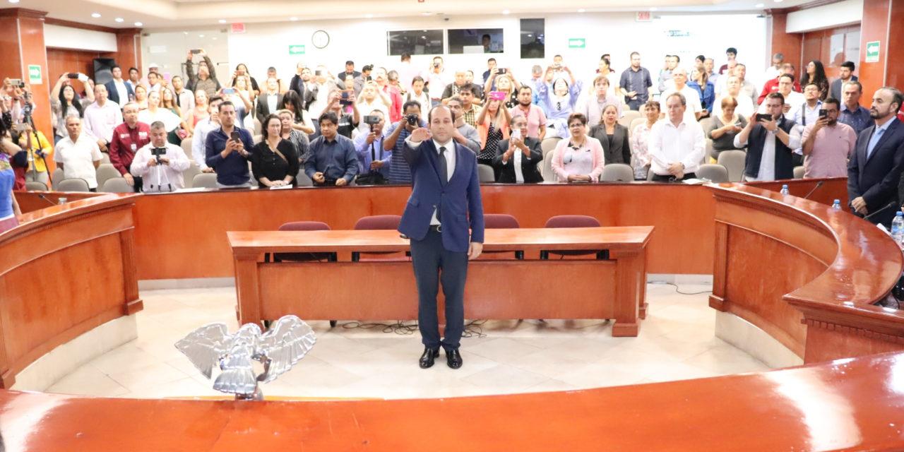 Eligen a Miguel Ángel Mora Marrufo como Comisionado Estatal de Derechos Humanos
