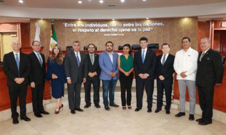 Comparece Secretario General de Gobierno ante la Junta de Coordinación Política